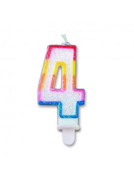Candelina Numero 4 (Sweet)