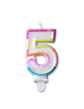 Candelina Numero 5 (Sweet)