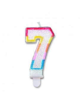 Candelina Numero 7 (Sweet)
