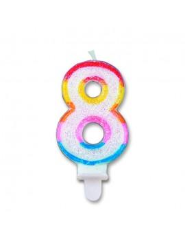 Candelina Numero 8 (Sweet)