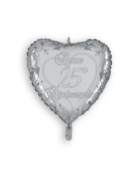 Palloncino Cuore 25° Anniversario