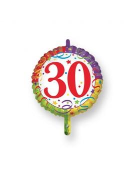 Palloncino Tondo Numero 30
