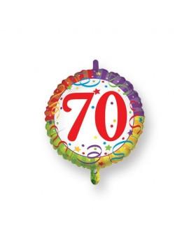 Palloncino Tondo Numero 70