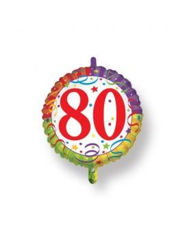 Palloncino Tondo Numero 80