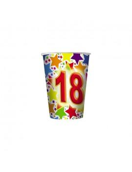 Bicchierini Numero 18 (10 pz)