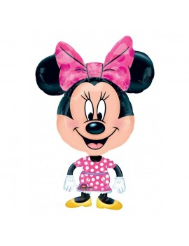 Palloncino Minnie Mouse Airwalkers Medio