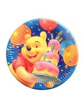 Piatti Winnie The Pooh da 20 cm (10 pz)