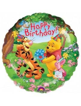 Palloncino Winnie The Pooh Happy Birthday