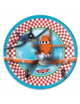 Piatti di Carta Disney Planes da 23 cm