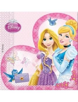 Tovaglioli di Carta Principesse Disney 33x33