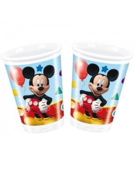 Bicchieri di Plastica Mickey Mouse da 200 ml