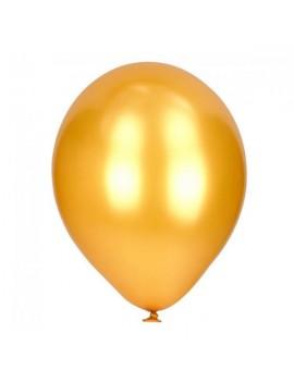 Palloncini in Lattice Oro Metallizzato 30 cm da 50 pz
