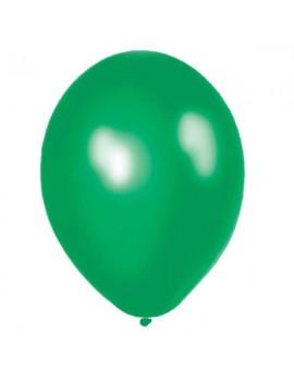 Palloncini in Lattice Verde Metallizzato 30 cm da 50 pz