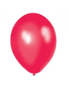Palloncini in Lattice Rosso Metallizzato 30 cm da 50 pz